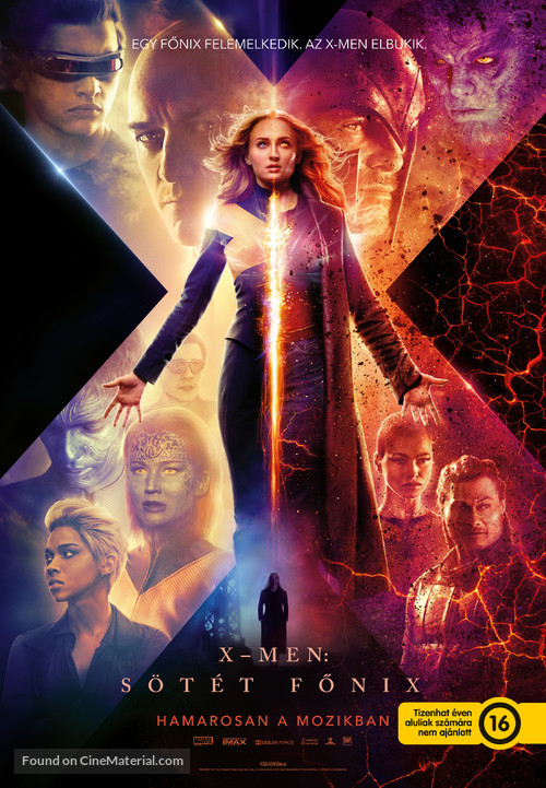 Dark Phoenix - Hungarian Movie Poster