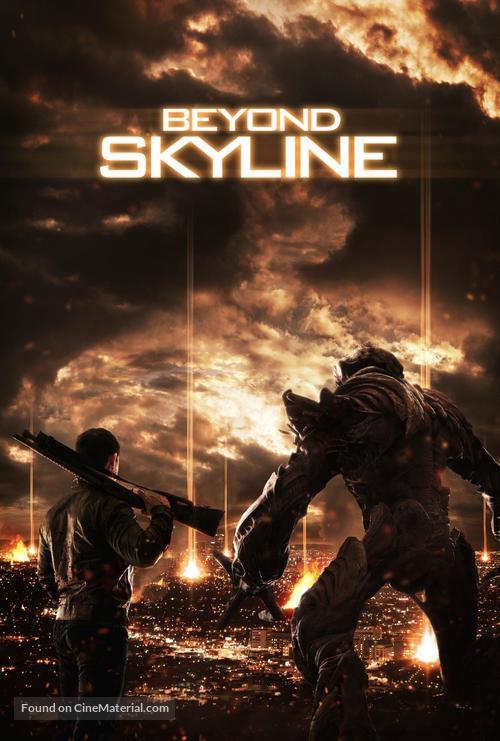 Beyond Skyline dvd cover