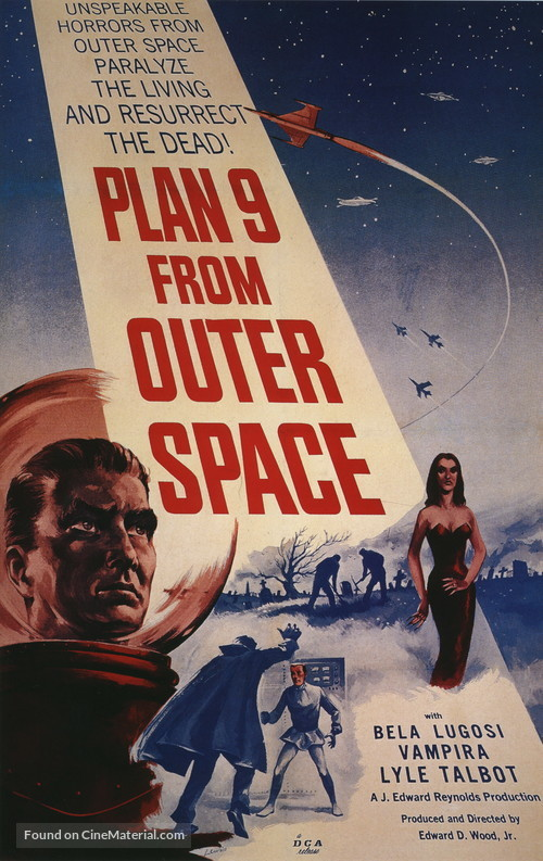 Plan 9 from Outer Space - Movie Poster