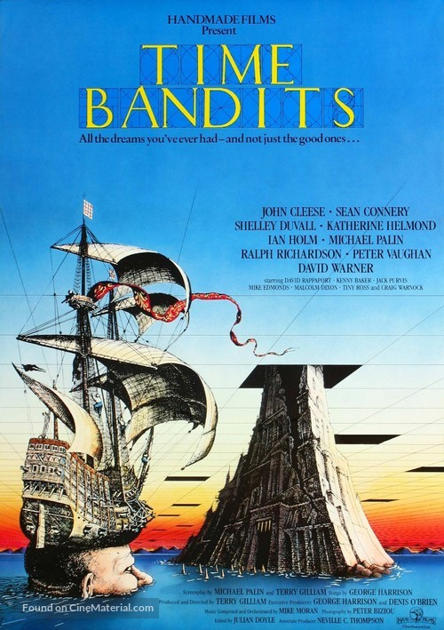 Time Bandits - British Movie Poster