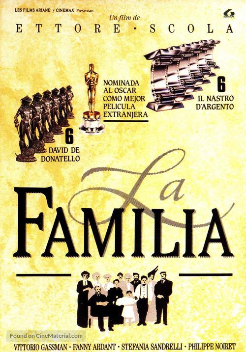 La famiglia - Spanish Movie Cover
