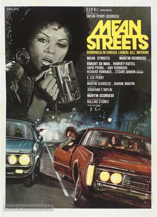 Mean Streets - Italian Movie Poster