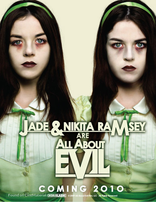 All About Evil - Movie Poster