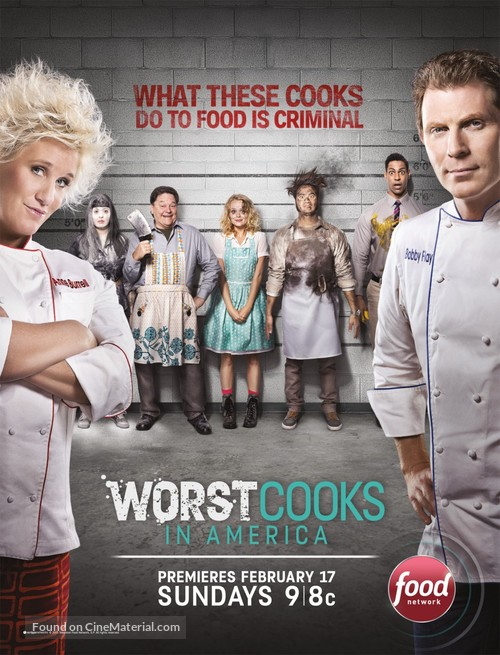 """Worst Cooks in America"" - Movie Poster"