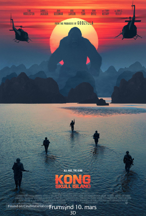 Kong: Skull Island - Icelandic Movie Poster