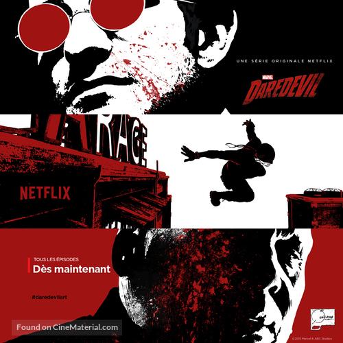 """""""Daredevil"""" - French Movie Poster"""