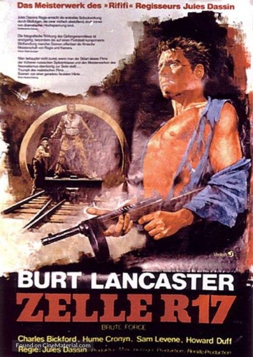 Brute Force - German Movie Poster