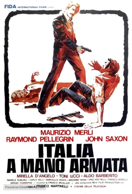 Italia a mano armata - Italian Movie Poster