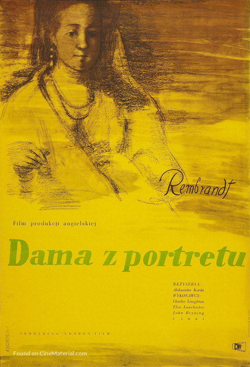 Rembrandt - Polish Movie Poster