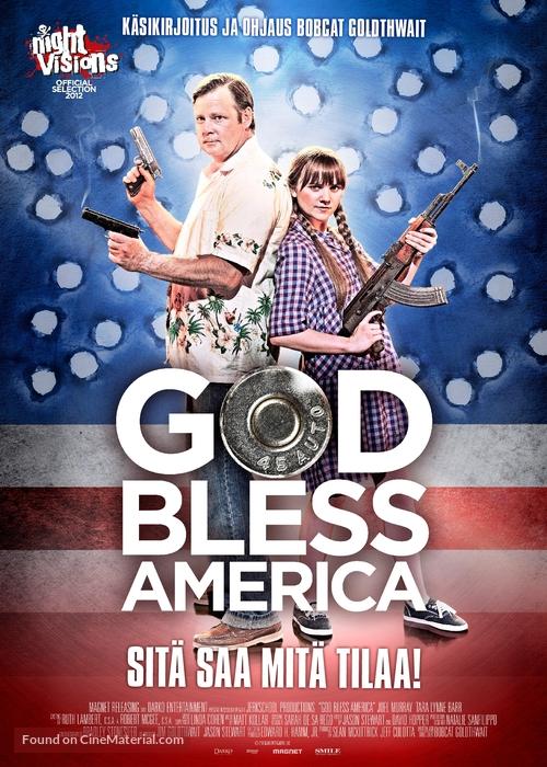 God Bless America - Finnish Movie Poster