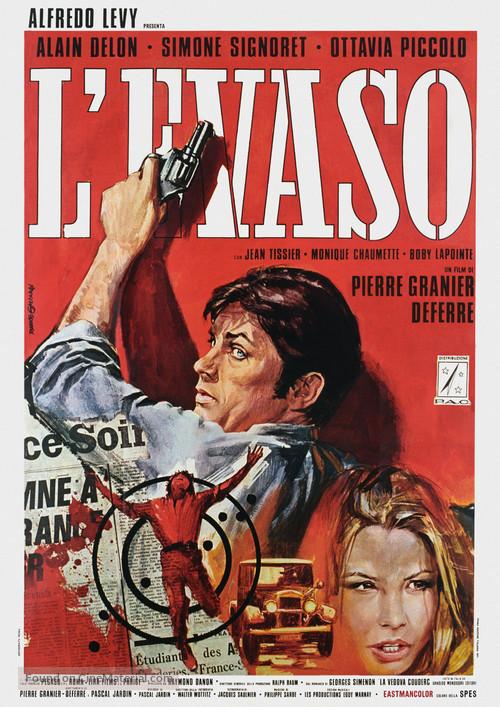 Veuve Couderc, La - Italian Movie Poster