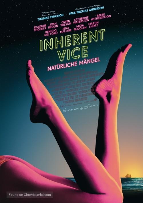 Inherent Vice - German Movie Poster