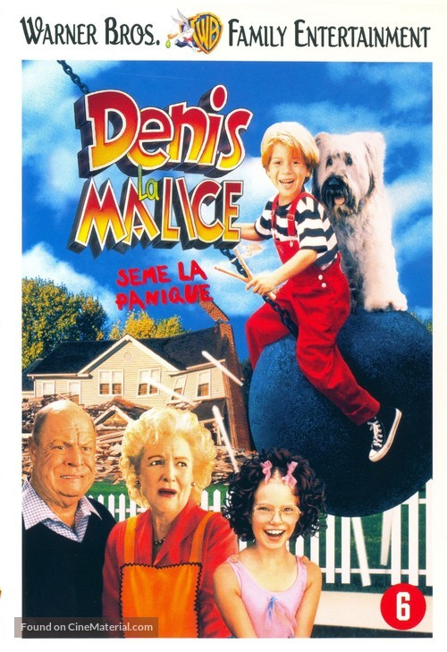 Dennis the Menace Strikes Again! - Belgian DVD movie cover