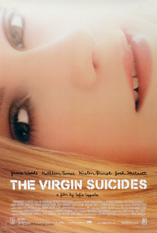 The Virgin Suicides - Movie Poster