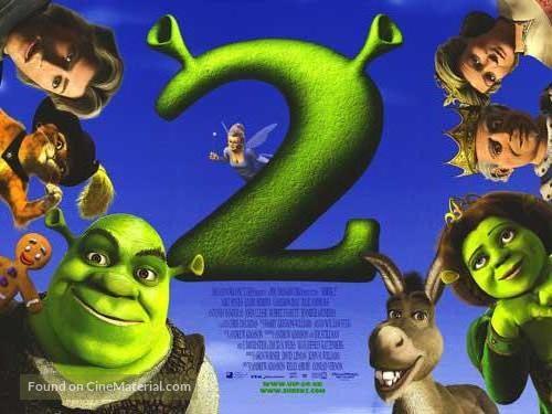 Shrek 2 - British Movie Poster