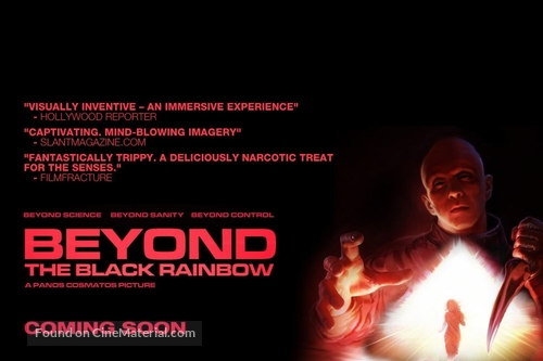Beyond the Black Rainbow - British Movie Poster