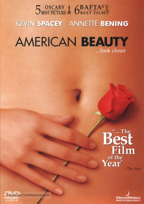 American Beauty - DVD movie cover