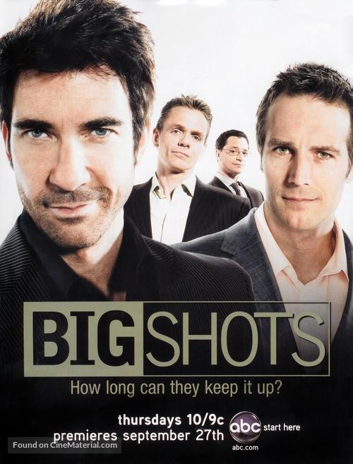 """Big Shots"" - Greek poster"
