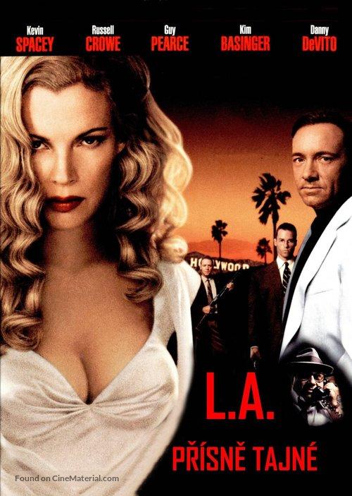 L.A. Confidential - Czech DVD movie cover