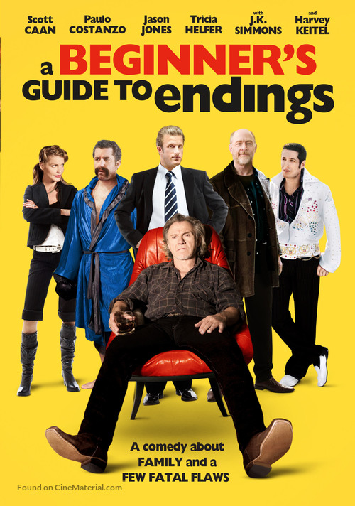 A Beginner's Guide to Endings - DVD movie cover