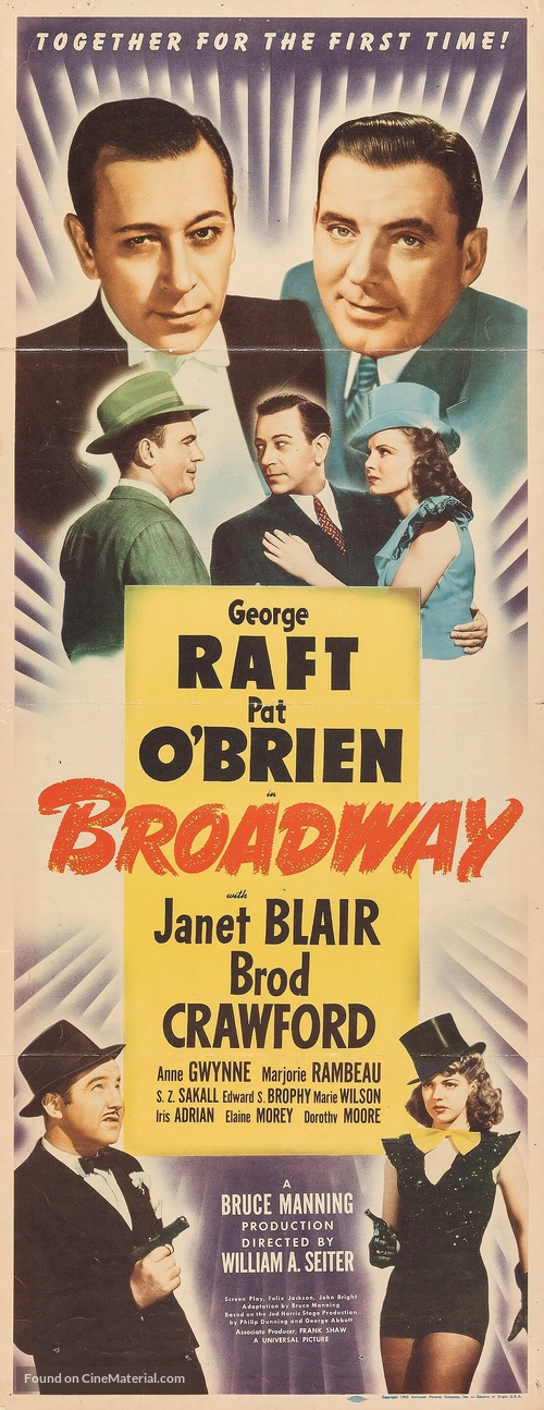 Broadway - Movie Poster