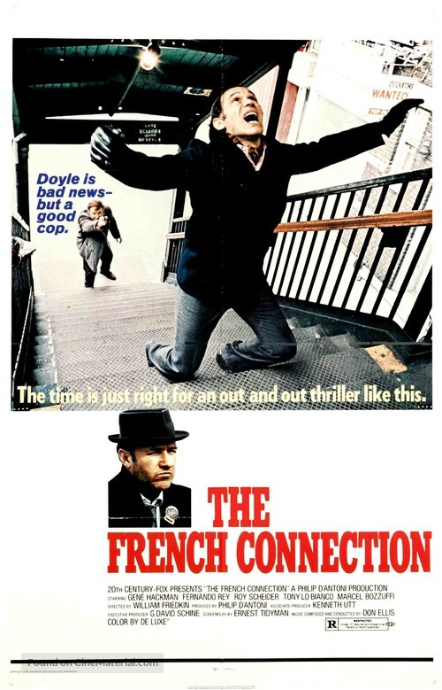 The French Connection - Movie Poster