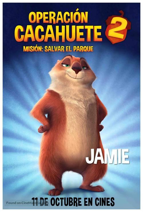 the nut job 2 spanish movie poster
