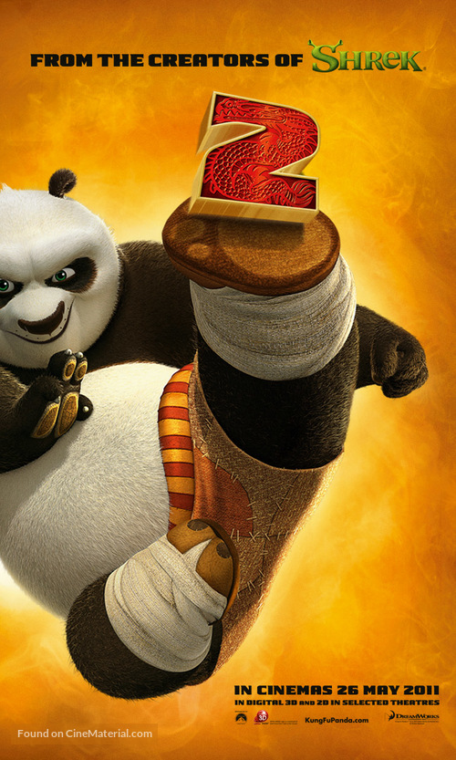 Kung Fu Panda 2 - Singaporean Movie Poster
