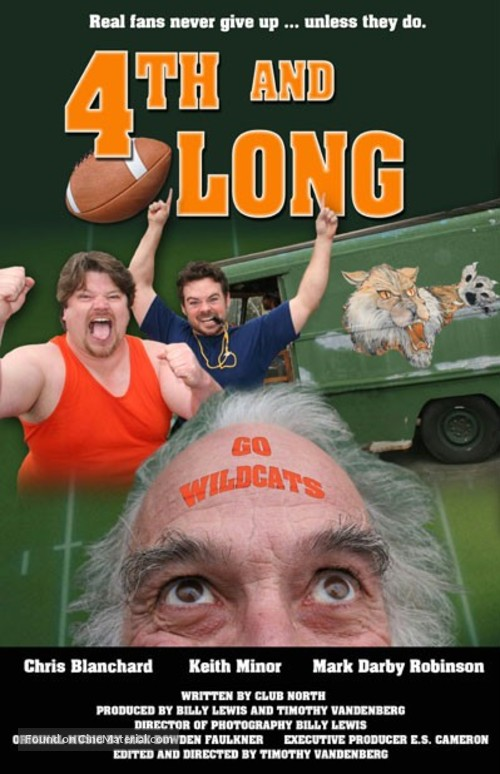 """""""4th and Long"""" - Movie Poster"""