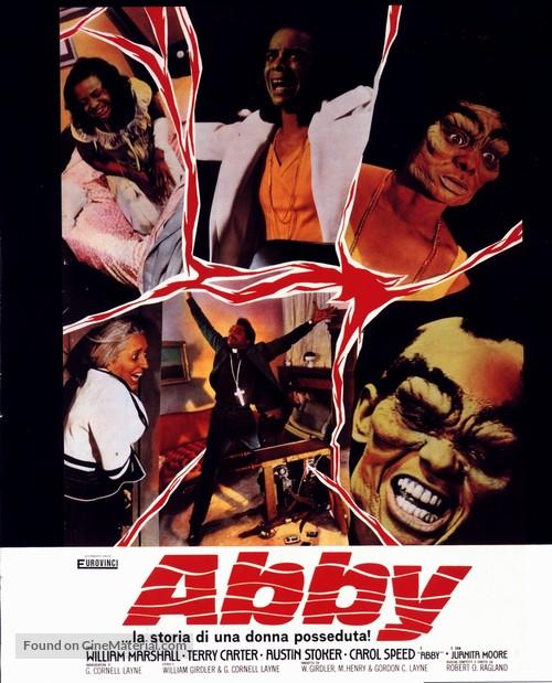 Abby - Italian Movie Poster