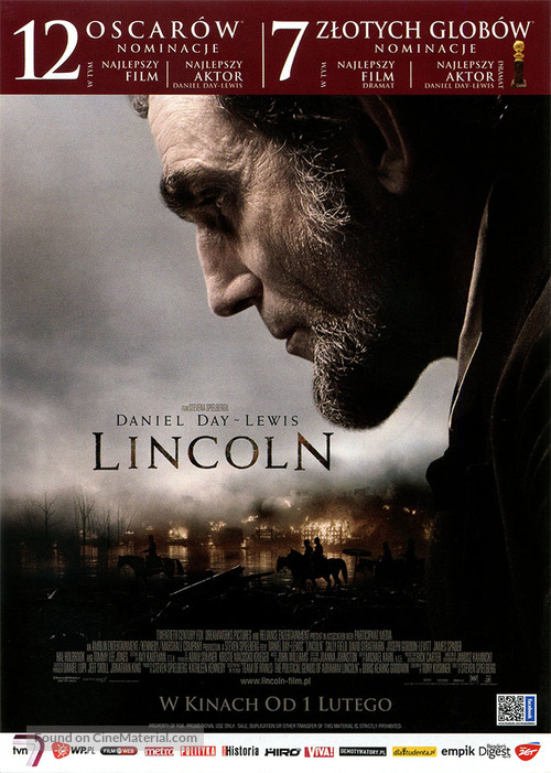 Lincoln - Polish Movie Poster