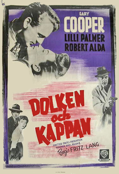 Cloak and Dagger - Swedish Movie Poster
