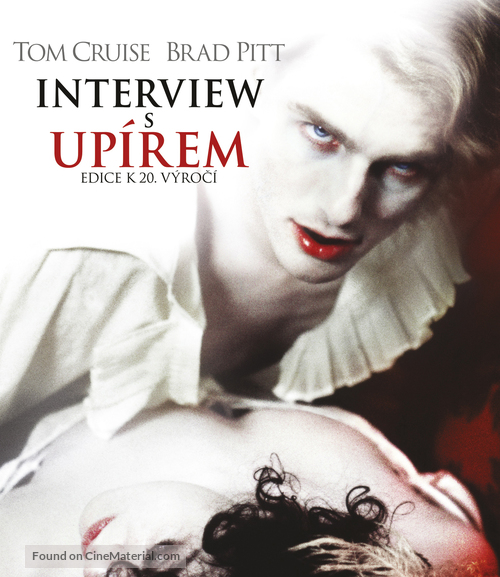 Interview With The Vampire - Czech Blu-Ray movie cover