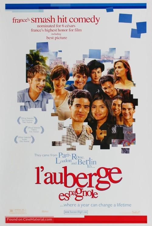 L'auberge espagnole - Movie Poster