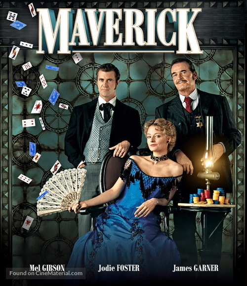 Maverick 1994 Movie Cover