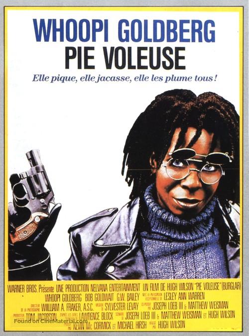 Burglar - French Movie Poster