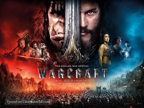 Warcraft - British Movie Poster
