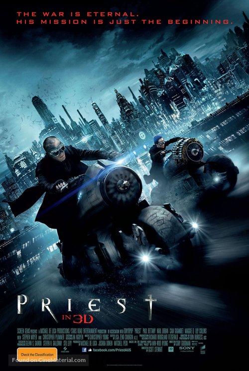Priest - Australian Movie Poster