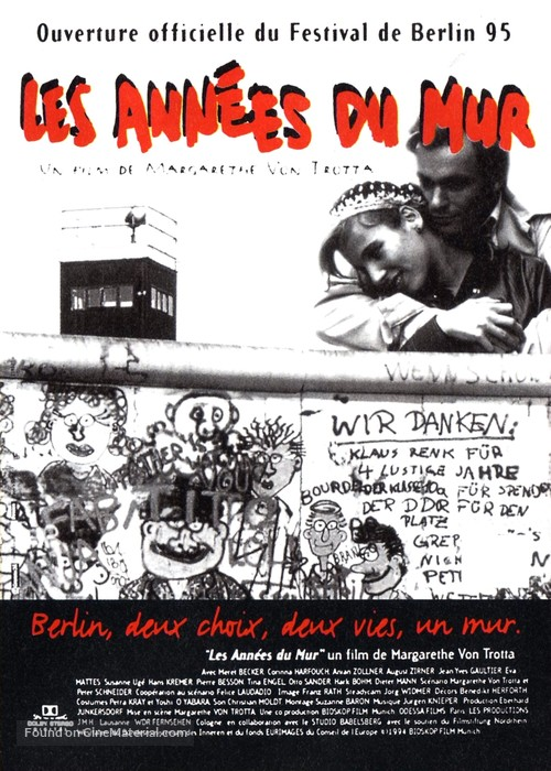 Das Versprechen - French Movie Poster