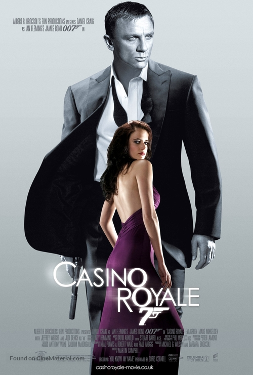 Casino Royale - British Theatrical movie poster