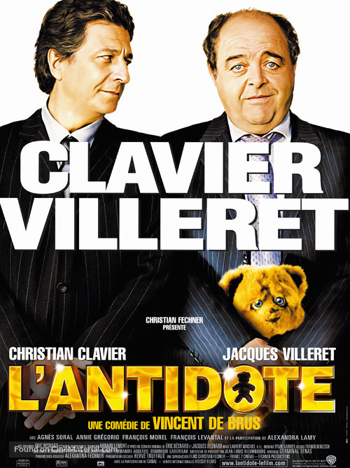 Antidote, L' - French Movie Poster