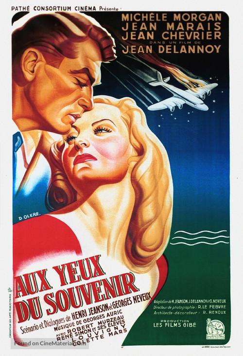 Aux yeux du souvenir - French Movie Poster