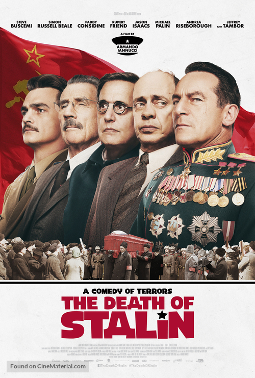 Image result for the death of stalin movie poster