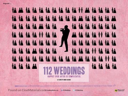 112 Weddings - British Movie Poster