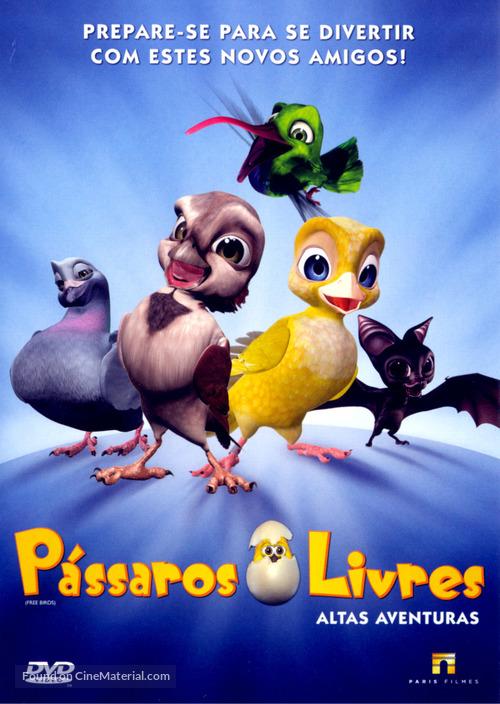 Plumíferos - Aventuras voladoras - Brazilian DVD cover