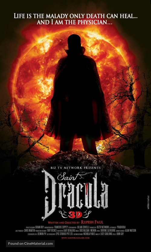 Saint Dracula 3D - Movie Poster