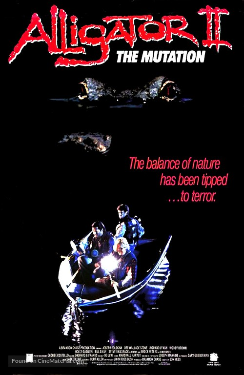 Alligator II: The Mutation - Movie Poster