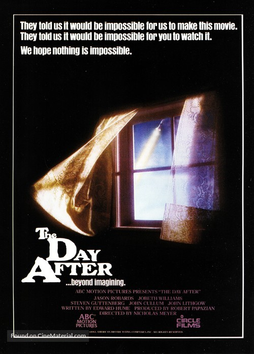 The Day After - Movie Poster