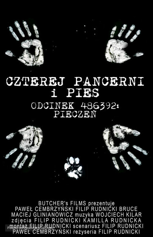 """Czterej pancerni i pies"" - Polish Movie Cover"