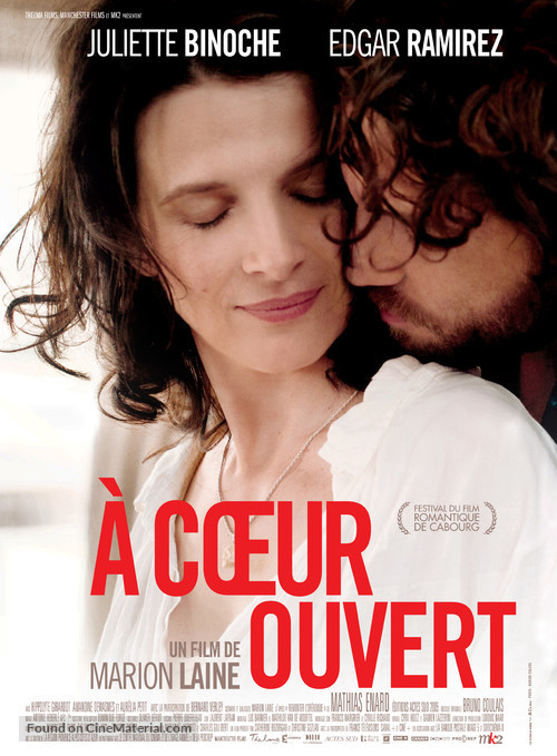 À coeur ouvert - French Movie Poster